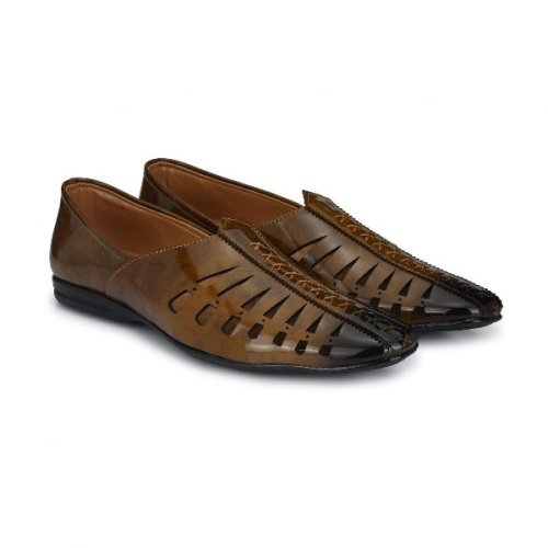 Men's Sandals Square Toe Hollow Casual Men's Shoes