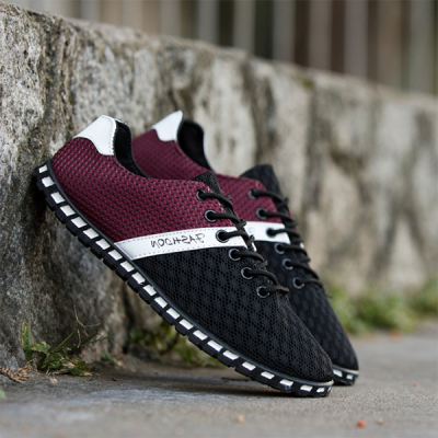 Summer Breathable Net Shoes Lightweight Casual Sports Shoes