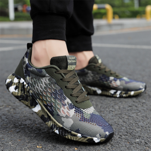 Hollow Camouflage Shoes Trend Sneakers