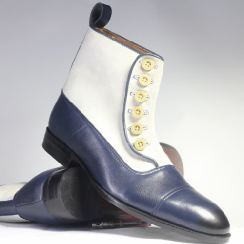New Low-heeled Men's Business Low Boots