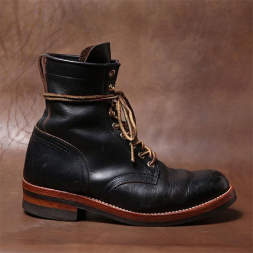 Men's Custom Style Lace-up Trendy Boots