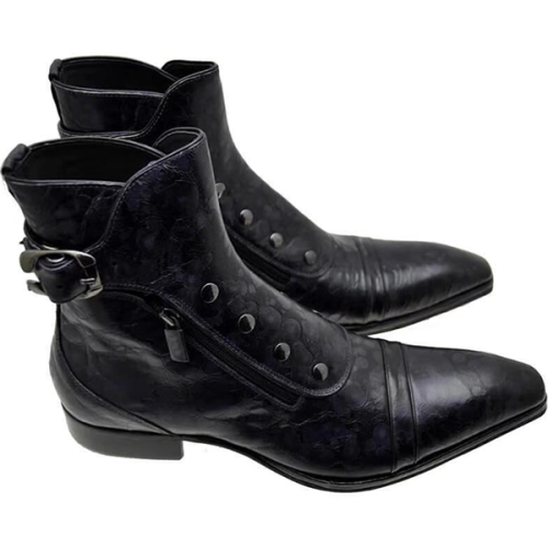 New Fashion Low-Heel Men's Boots