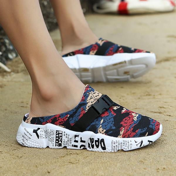 Summer New Thick-soled Baotou Men's Non-slip Beach Shoes