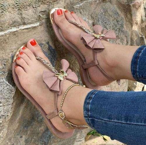 Flower Flip Flop Sandals