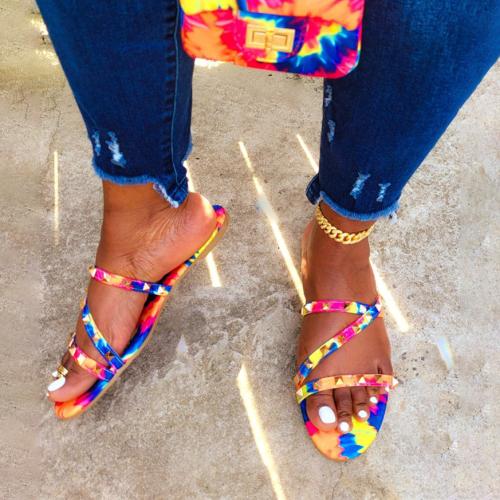Women Summer Handmade Flip Flops Beach Sandals