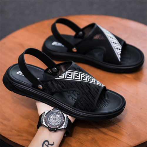 New Summer Men's Breathable Beach Shoes for Outer Wear
