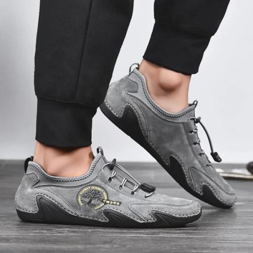 New Men's Soft Sole Casual Breathable Retro Men's Shoes