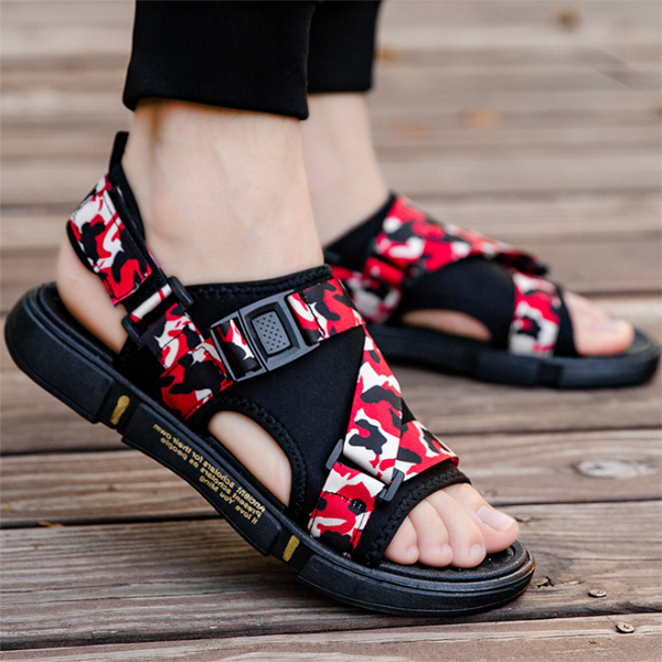 Men's Summer Camouflage Casual Fashion Sandals