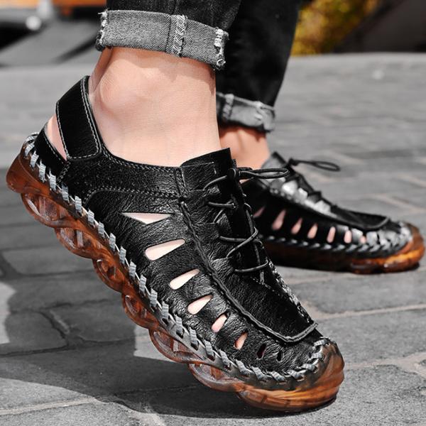 Summer Breathable Baotou Casual Soft Sole Men's Sandals