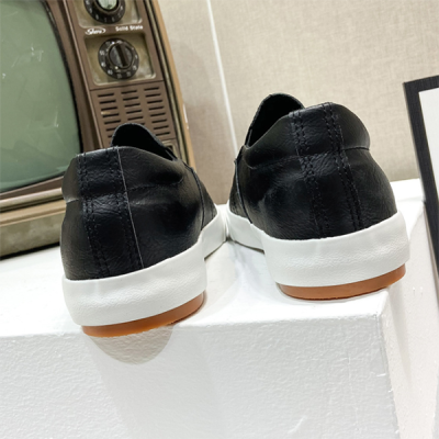 Flat Casual Low-top  Leather Shoes