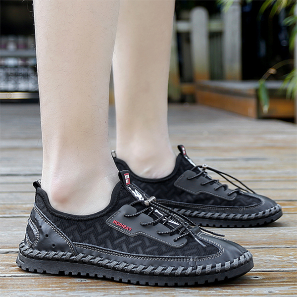 Summer Breathable Mesh and Tendon Sole Sports Casual Shoes