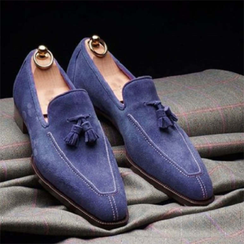 New Style Tassel Foot Suede Men's Shoes