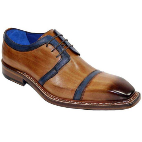 Men's New Color Matching Lace-up Shoes