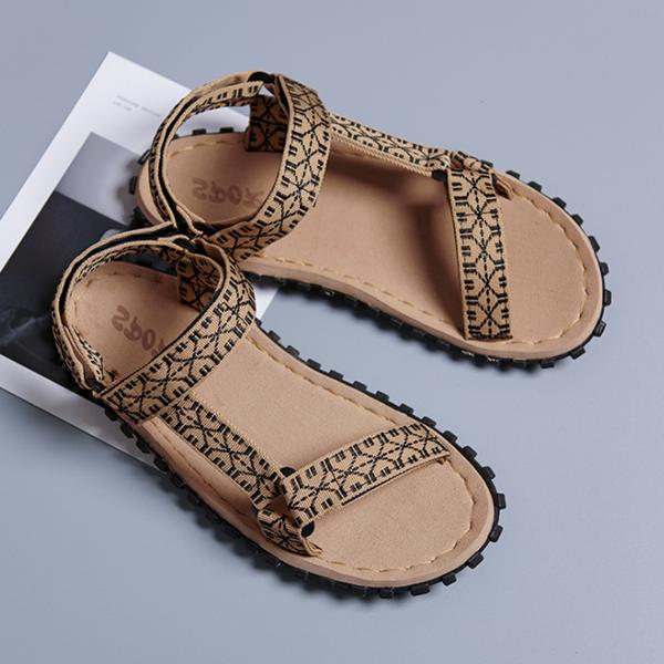 Men's Summer Personality Velcro Ultralight Sandals