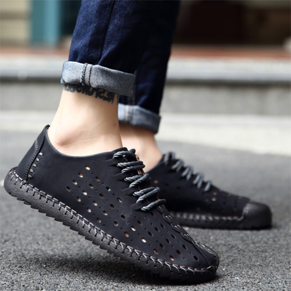 Summer Breathable  Casual Soft Sole Men's Beach Shoes