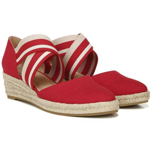 Womens LifeStride Keaton Wedge Espadrille Sandals