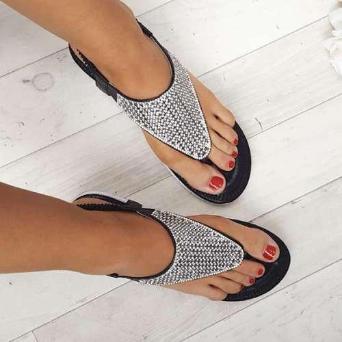 Karley Embellished Summer Sandals