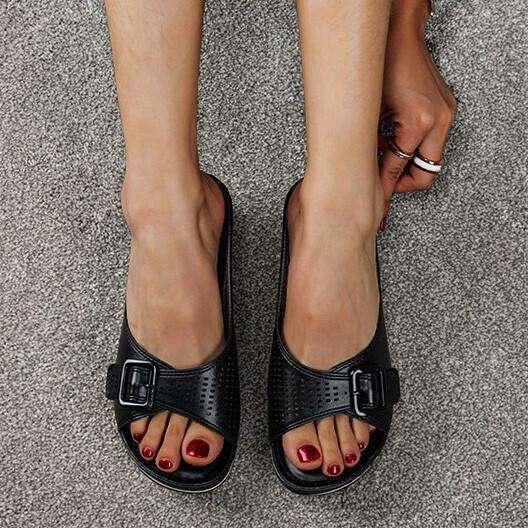 Women's shoes 2021 summer bohemian platform slippers female plus size sandals