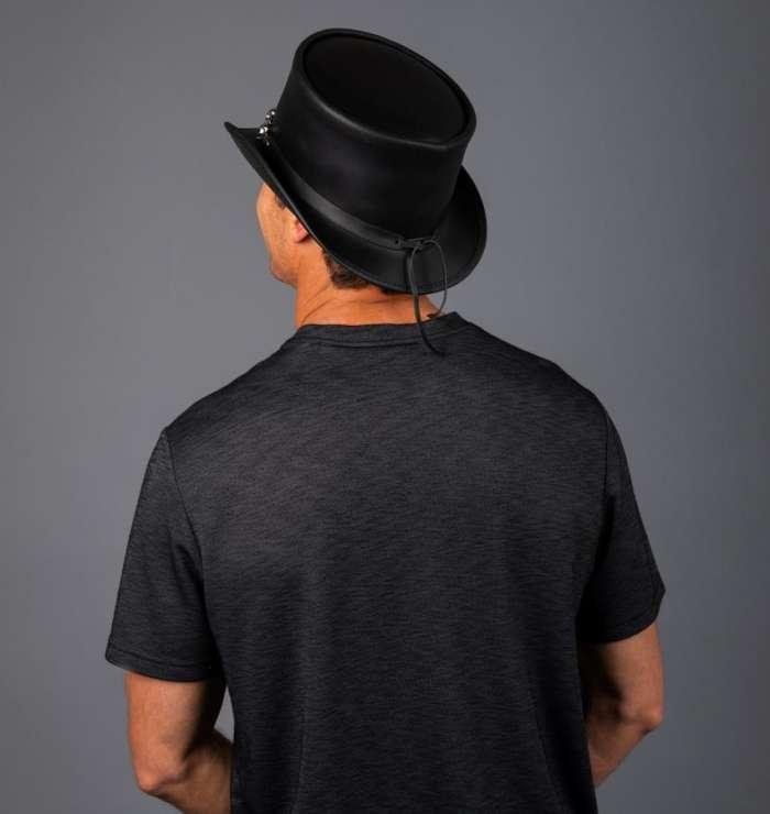 EL DORADO TOP HAT, 5 SKULL BAND