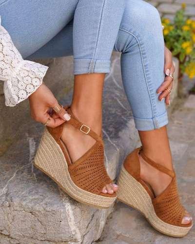 **Wedge Sandal Aurora