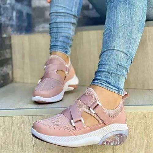 Women's Fashion  Flying Woven Sneakers