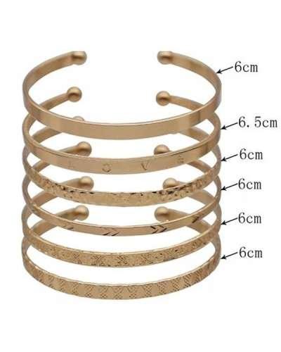 Simple Open Layer Bracelets