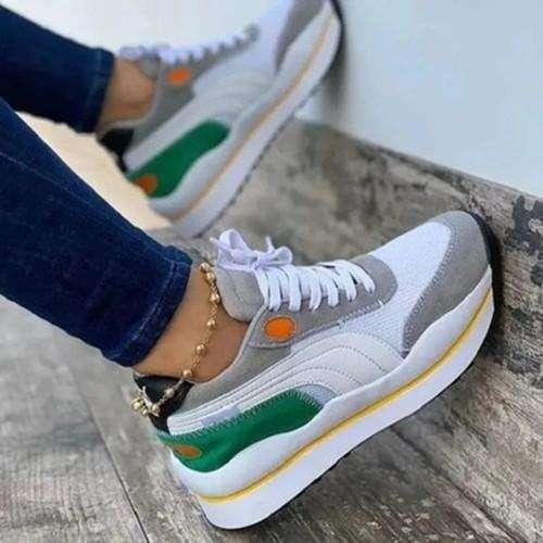 All Season Lacing Sneakers