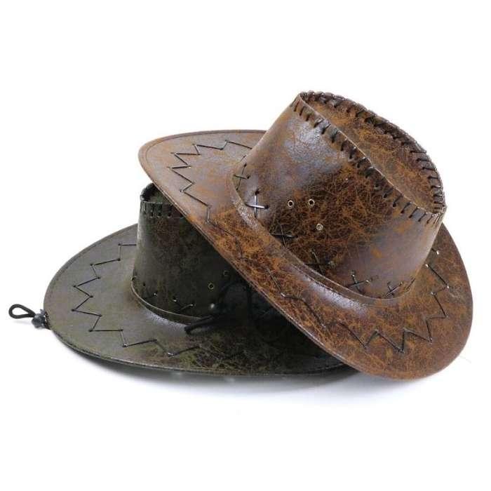 Cracked Western Cowboy Hat