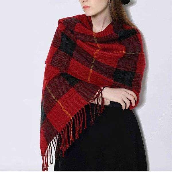 Pocket Shawl scarf