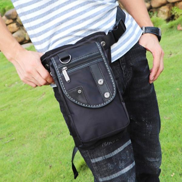 2021 New Trendy Fashion Multifunctional Waterproof Nylon Lightweight Men's Bag