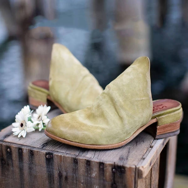 Pointed Toe Ankle Shoes