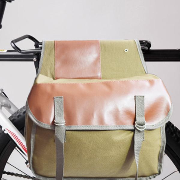 Canvas Bike Mountain Bike Backpack
