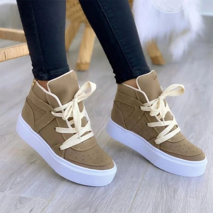 Women's Casual Breathable High-Top Sneakers