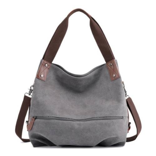 Canvas Tote Handbags Simple Shoulder Bags Summer Shopping Bags