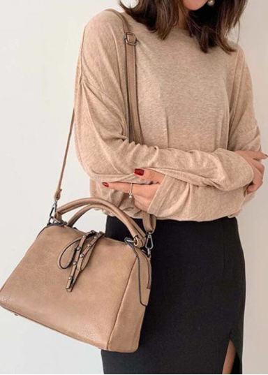 Women Casual Solid Crossbody Bag