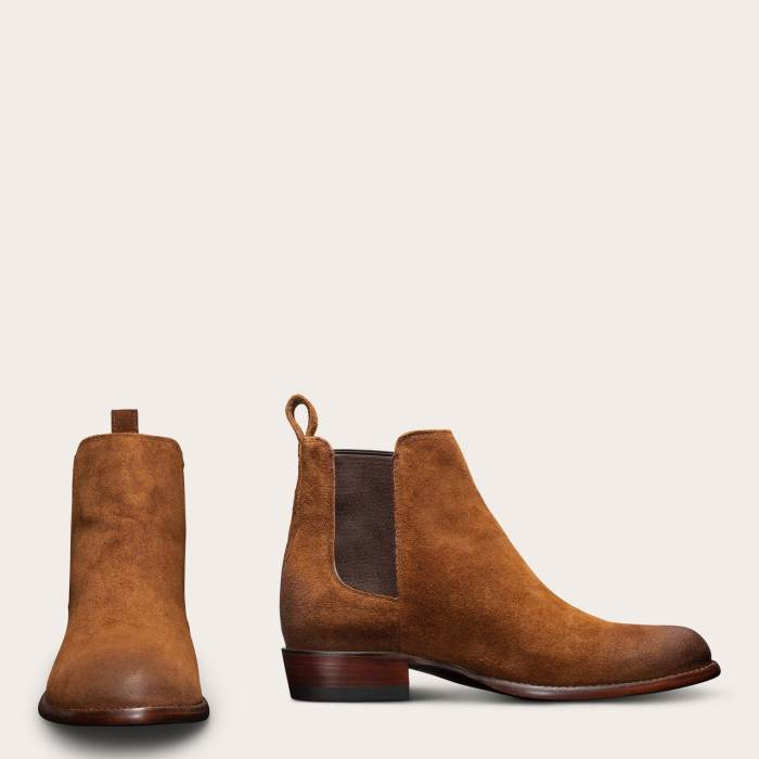 Men's Chelsea Boot - Handmade Calfskin and Suede Leather