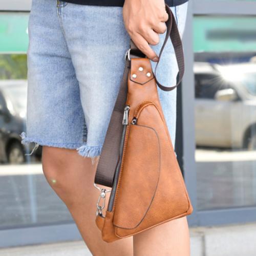 Street Fashion Casual Light Shoulder Messenger Bag Men's Bag