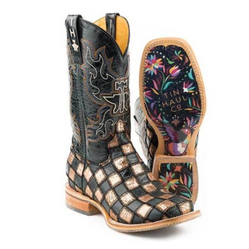 All Season Round Toe Rubber Heel Boots