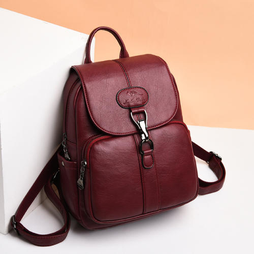 Women's all-match casual fashion backpack