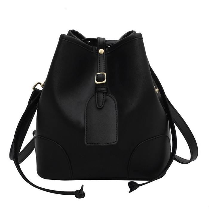 Jcinta Vegan Leather Bucket Bag