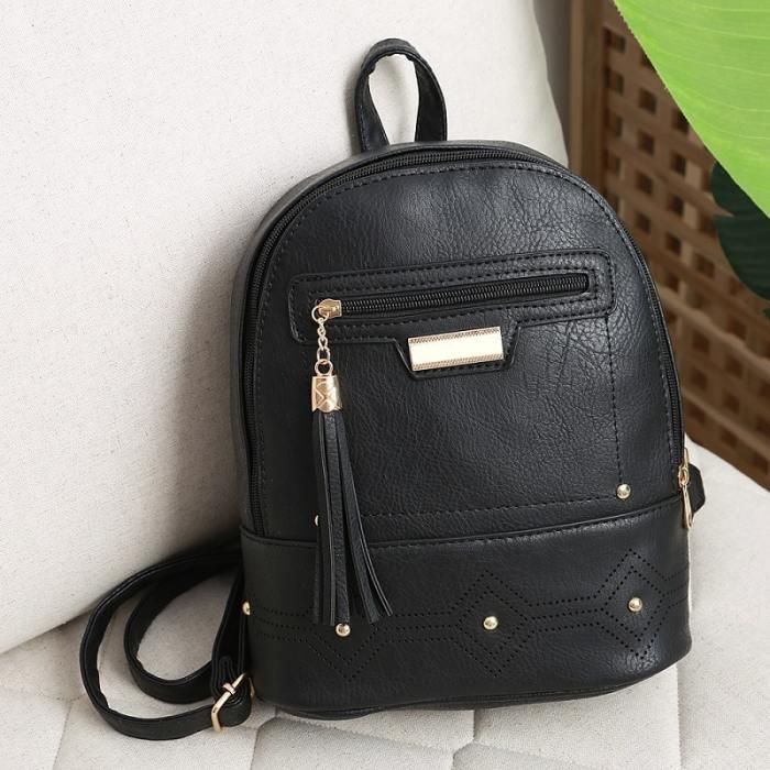 Kalika Vegan Leather Backpack