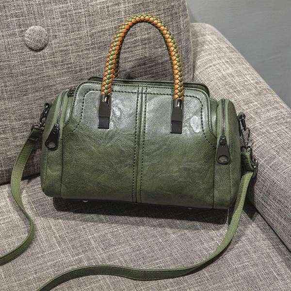 All-Match Fashion Woven Portable Messenger Bag
