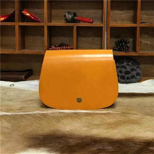 Ladies Retro Diagonal Handmade Leather Bag