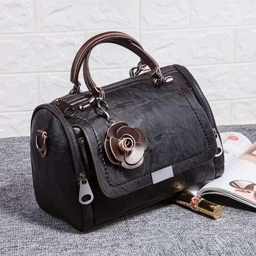 Cowhide One-Shoulder Diagonal Soft Leather Bag