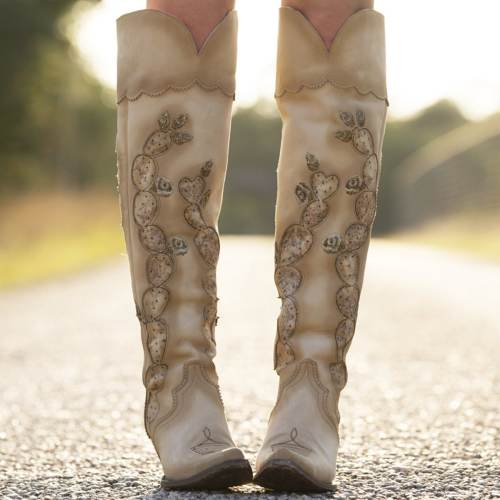 Hard To Handle Over The Knee Boot
