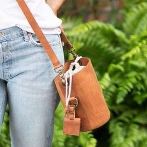 The Leather Lens Case Bag