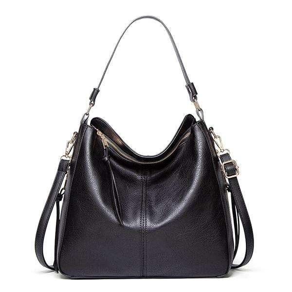 Women's Large Premium Leather Retro Handmade Bag
