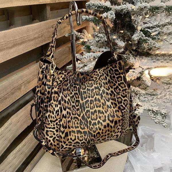 Leopard Fashion Wowen Bag