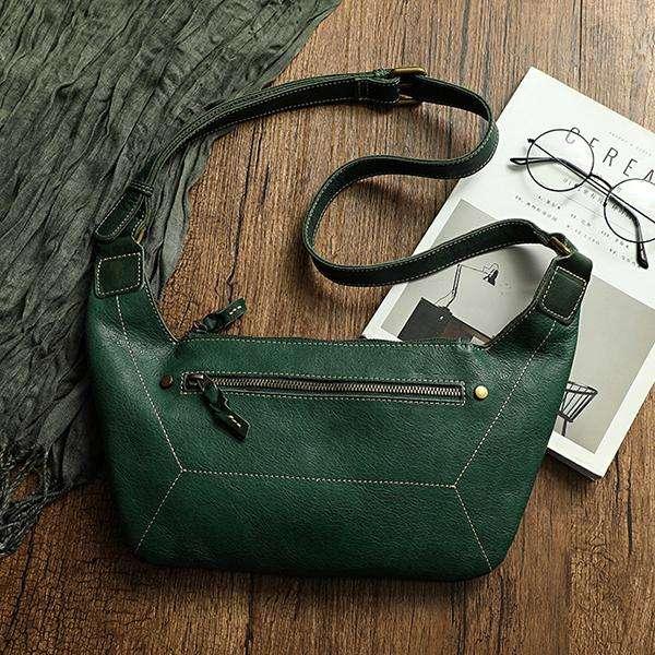Handmade Female Retro Hobo Bag