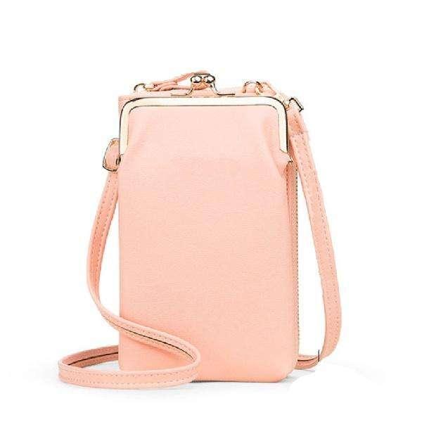 Women Phone Bag Solid Crossbody Bag